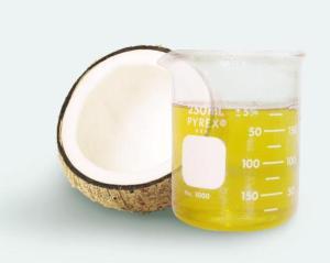 Meet your ashy knee savior, coconut oil.  Source.